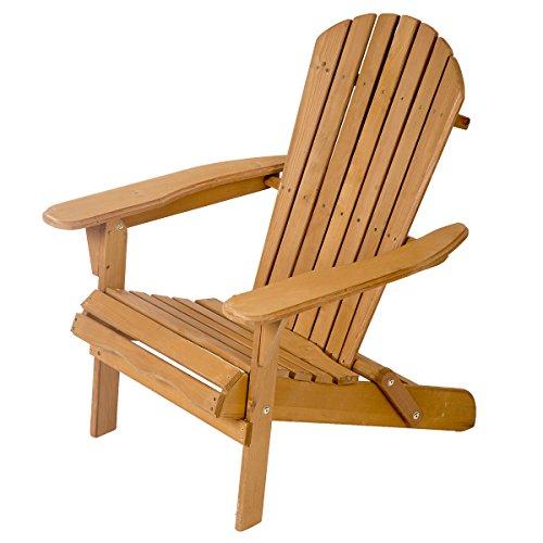 Adirondack Lawn Chair - FDW Outdoor Wood Adirondack Chair Garden Furniture Lawn Patio Deck Seat 2000