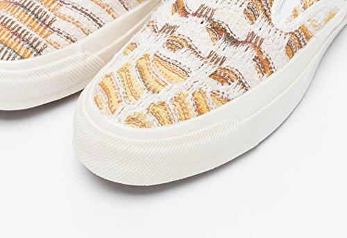 Mens Slip multi Missoni 10 Color Size Fabric on Egret Deckstar Converse dan4Cqwd