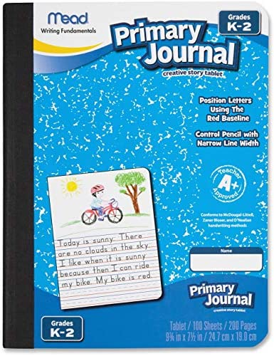 Mead Primary Journal Narrow Ruled