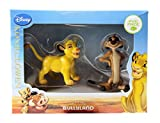 Bullyland Disney The Lion King Simba & Timon Figures Cake Toppers In Gift Box