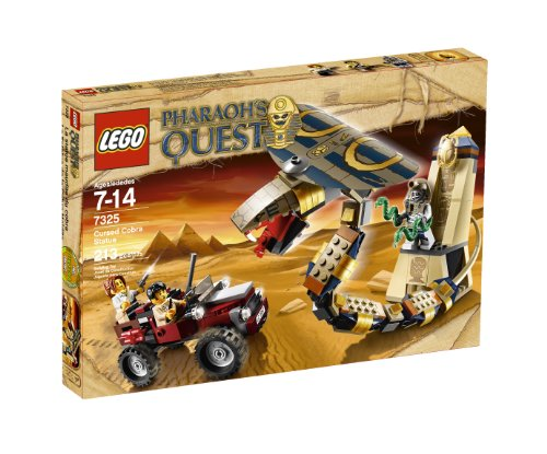 Lego Pharaohs Quest Cursed Cobra Statue 7325