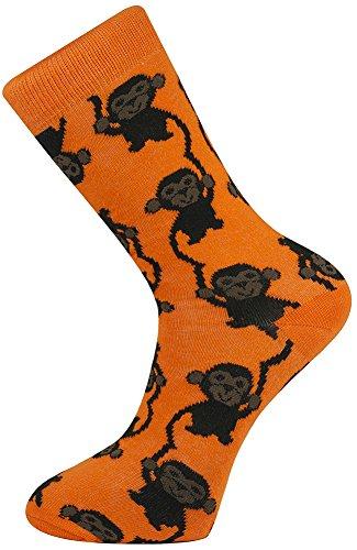 Mysocks Crew Socks Monkey Design Monkey Design ()