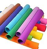 10pcs/Lot Randomly Color EVA Sponge Sheet Handmade DIY Folding Paper 50x50cm (1MM/10PCS)