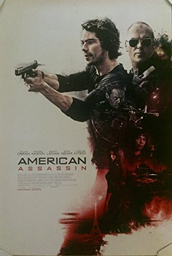 American Assassin  2017  Original Authentic Movie Poster 27X40   Double   Sided   Dylan Obrien   Michael Keaton   Sanaa Lathan   Taylor Kitsch   Vince Flynn