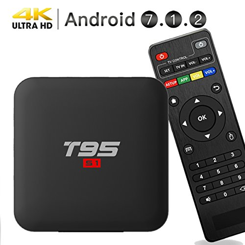 EASYTONE Android 7.1.2 TV Box,2018 Model Smart