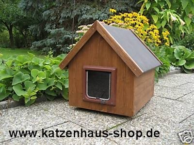 Gato Caseta/Gato Impermeable para Exterior con gato Tapa ...