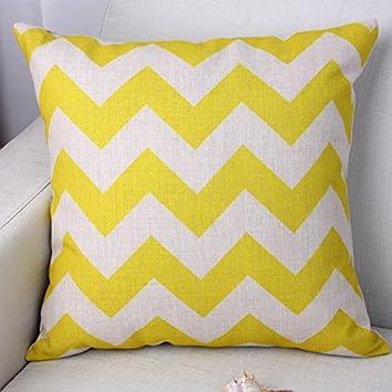 Amazoncom Ling At Moire Cotton Linen Throw Pillow Case Creative - Moire-unique-sofa-design