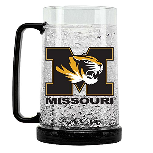 (NCAA Missouri Tigers 16oz Crystal Freezer Mug)