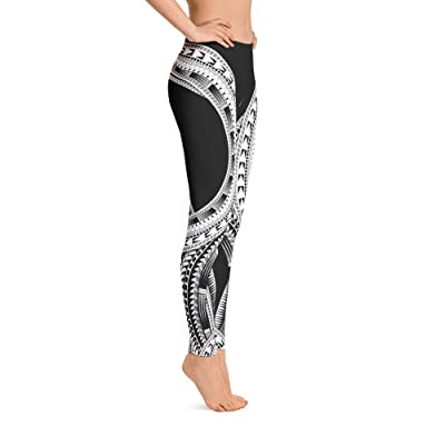 Atikapu Polynesian Design Leggings