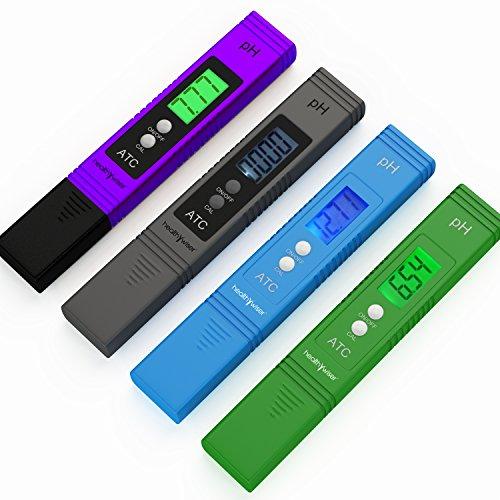 Digital Ph Meter Pocket Size Ph Pen Tests Household