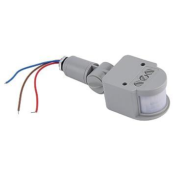 Interruptor de sensor de movimiento infrarrojo automático CA 220 V para luz LED