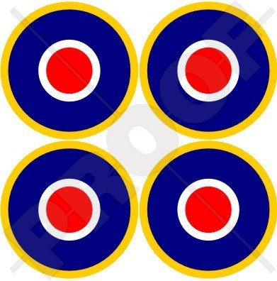 RAF British Royal AirForce Type C1 Aircraft Roundels 2