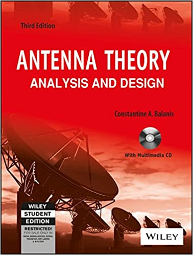Antenna Theory Analysis And Design 2nd Edition Pdf