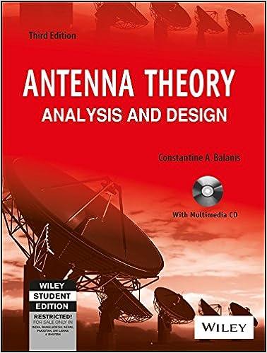 Antenna Theory Analysis And Design 2nd Edition Pdf