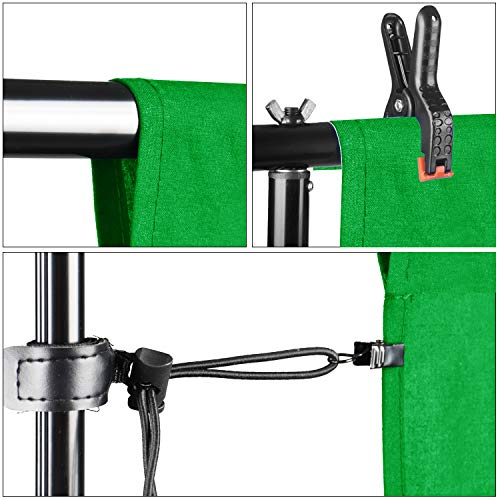 Emart 8.5 x 10 ft Backdrop Support System, Photography Video Studio Lighting Kit Umbrella Softbox Set Continuous Lighting for Photo Studio Product, Portrait and Video Shooting Photography by EMART (Image #5)