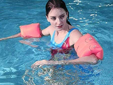 Pomisty Schwimmflügel, Schwimmhilfe, Schwimmreifen Schwimmen Armbands für Kinder und Kleinkinder von 2-6 Jahre, 15-30kg, Schwimmscheiben mit Delphin Design für Schwimmbad, Pool, Strand etc (style1)