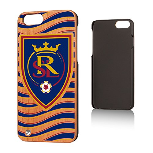 Keyscaper MLS Real Salt Lake Wave Cherry Case for iPhone 6/6S, Wood by Keyscaper