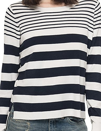 Only Women's New Mila Women's Blue-Red Striped Pullover VARIANTE A