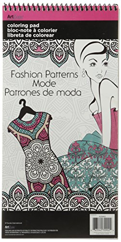 - Trends International  Patterns In Fashion Mini Coloring Poster Pad