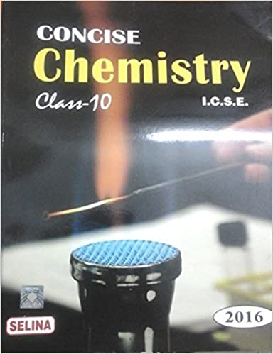 CONCISE CHEMISTRY CLASS 10 ICSE PDF DOWNLOAD