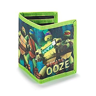 Avon Teenage Mutant Ninja Turtles Tri-Fold Wallet - Green - One Size