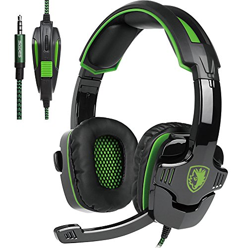 SADES SA-930 3.5mm Gaming Headsets with Microphone Noise Cancellation Music Headphones for PS4 New Xbox One Laptop Tablet PC Mobile Phones by SADES