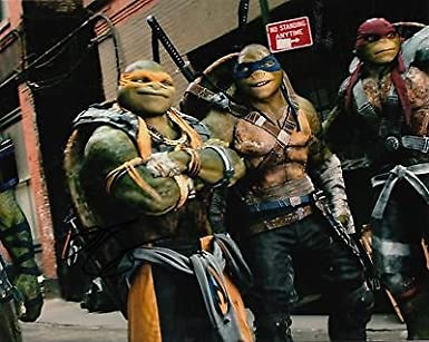 Noel Fisher signed Teenage Mutant Ninja Turtles Out of the ...