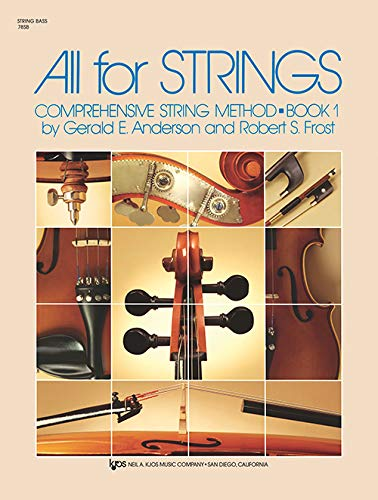 78SB - All For Strings Book 1 - String Bass