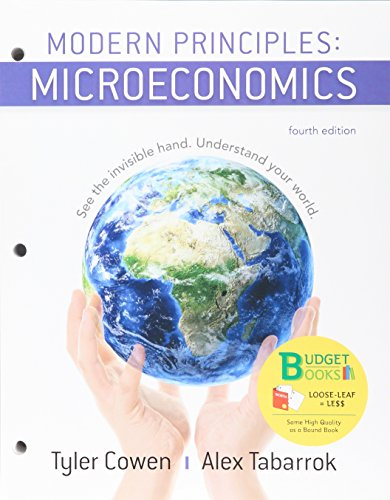 Loose-leaf Version for Modern Principles of Microeconomics 4e & SaplingPlus for Modern Principles of Microeconomics 4e (Six Months Access)