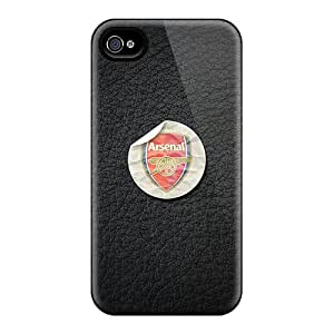 Shock Absorbent Hard Phone Covers For Iphone 4/4s (USZ12771ZOeo) Custom Vivid Arsenal Skin