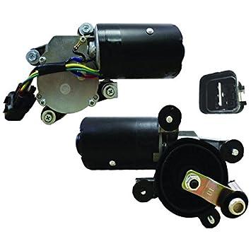 Partes reproductor nuevo parabrisas limpiaparabrisas motor para Hyundai Elantra 96 - 00 Accent 97 - 05 Tiburon, 97 - 01: Amazon.es: Coche y moto