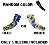 Forever Fanatics Golden State Curry #30 Basketball Fan Compression Shooter Arm Sleeve ✓ RANDOM COLOR ✓ ONLY 1 SLEEVE INCLUDED (Youth Size (6-13 Years Old), Curry #30 Pack of 2)