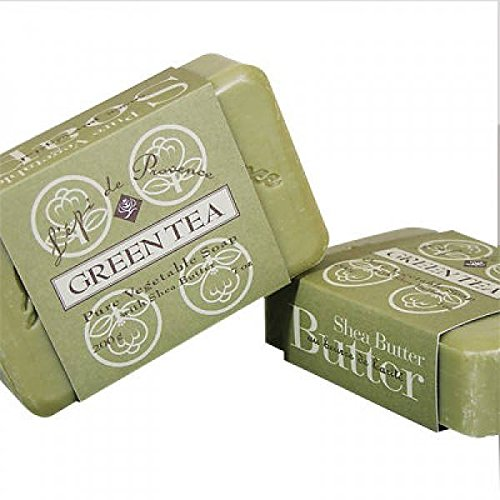 L'epi de Provence Triple Milled Green Tea Shea Butter Vegeta