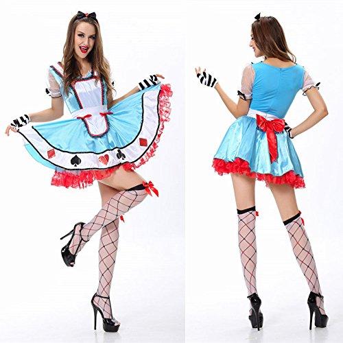 Ch&Ch Payaso Oktoberfest traje de sirvienta criada tarjetas ...