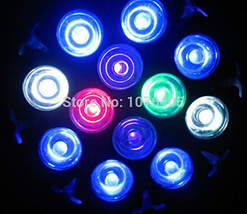 Pukido LED Aquarium Light Bulb 18w Fish Tank lamp E27 PAR38 Lighting for Fish Saltwater Freshwater Tank Coral Reef Plant