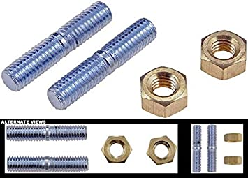 Pack of 10 Needa Parts 874830 M8-1.25 x 50mm Bolt,