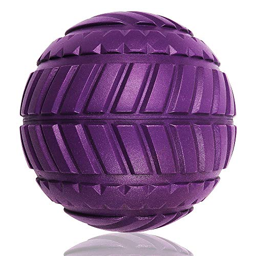 Fanghan Massage Balls ( Inspired By the Car Tyres ) - Therapy Ball for Trigger Point Massage - Deep Tissue Massager for Myofascial Release - Recovery Massage Balls - Muscle Relaxer (Grid Ball)