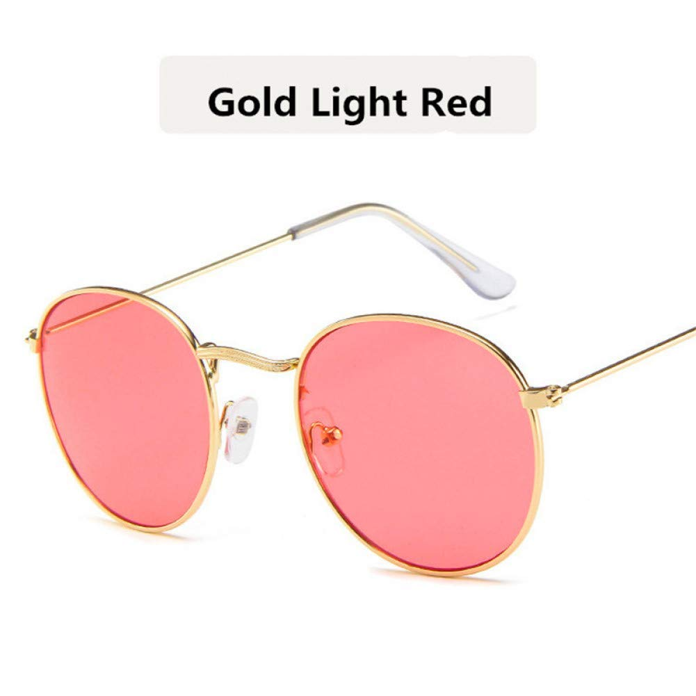Amazon.com : YHEGV Hot Fashion Oval Sunglasses Women Men ...