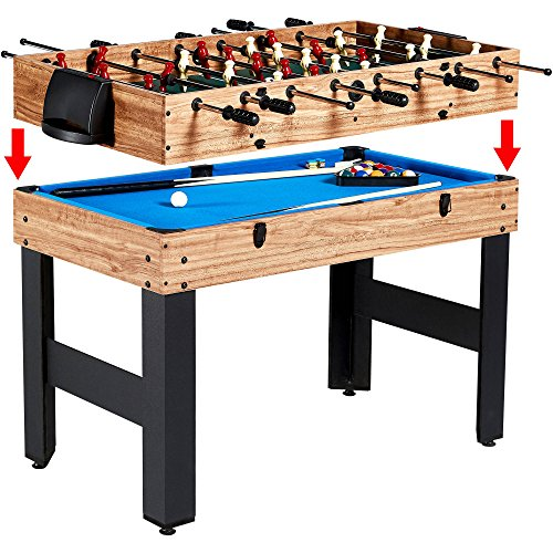 Game Table MD Sports Multi-Game Combo 3-In-1 Table 48