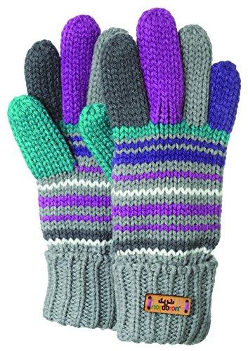 Nordbron gants pour enfant briley g, gris, 8006 taille unique