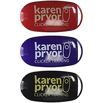 Karen Pryor i-Click Dog Training Clicker, 3 Clickers