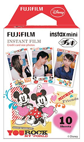 Fujifilm Instax Mini Film Disney Mickey & Friends (Polaroid Camera Film Disney)