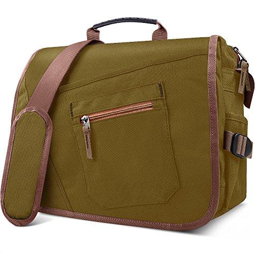 - Qipi Messenger Bag - Shoulder Bag for Men & Women, 15