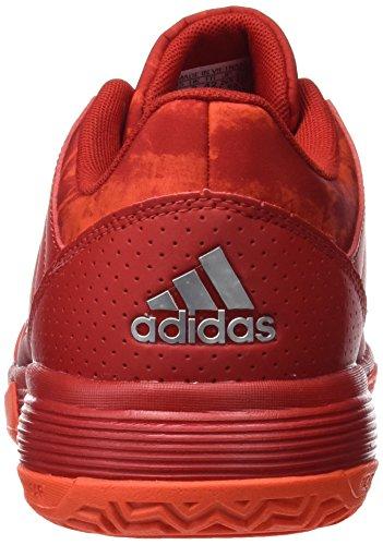 5 Scarlet Metallic Energy de Ligra Rouge Homme Argent adidas