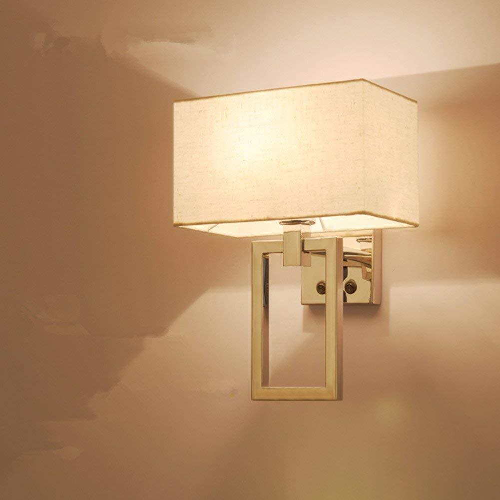 Moderne Wandleuchte, Edelstahl Wandleuchte, Lampe das Bett Zimmer im Hotel Zimmer Spaziergang Engineering Lampe, ein