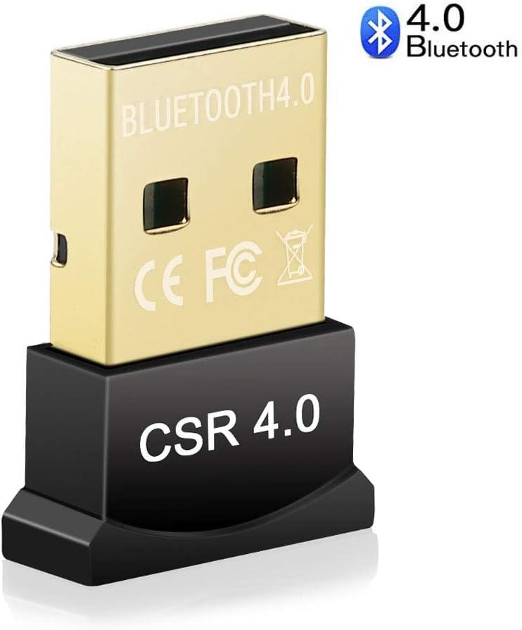 Yblntek adaptador Bluetooth USB 4.0RSE Dongle Adaptador, Bluetooth inalámbrico transmisor receptor para portátil PC Ordenador V1