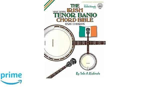 Amazon The Irish Tenor Banjo Chord Bible Gdae Irish Tuning