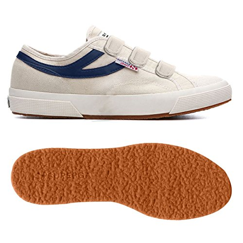 SUPERGA S00B220 Sneakers Hombre ECRU-NAVY 44