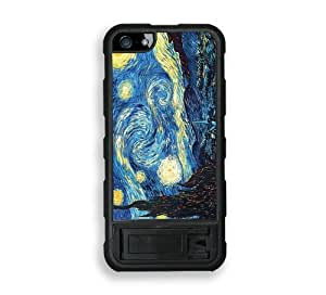 iPhone 5 5S Stand Case Protective iPhone 5 5S Case Vincent Van Gogh The Starry Night
