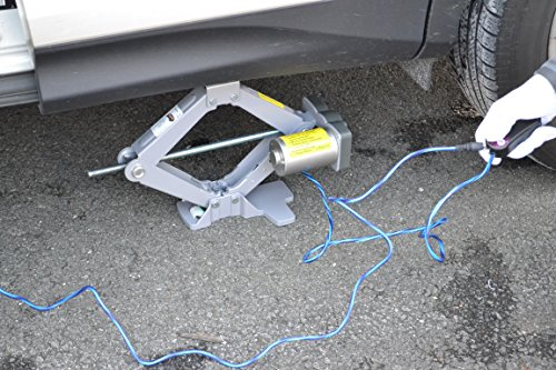 3 Ton Electric Scissor Jack 12v w/ Impact Wrench 12v - Flat Tire Changing Kit (Everything included as seen), On-Line Video by The Spare Kit Company (Image #3)